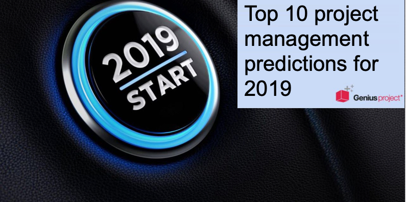 top ten project management predictions for 2019