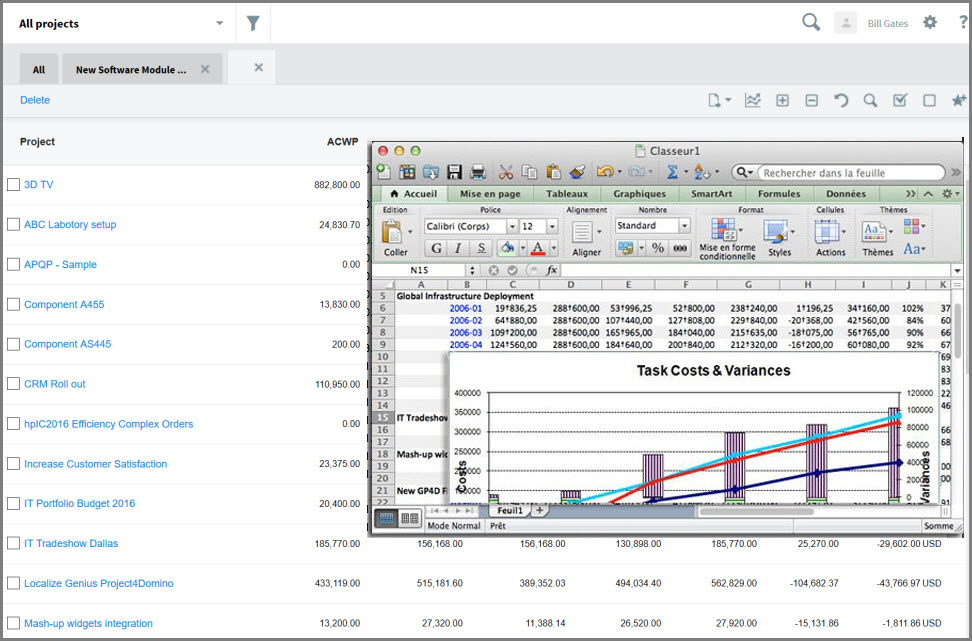 Reporting with Microsoft Excel
