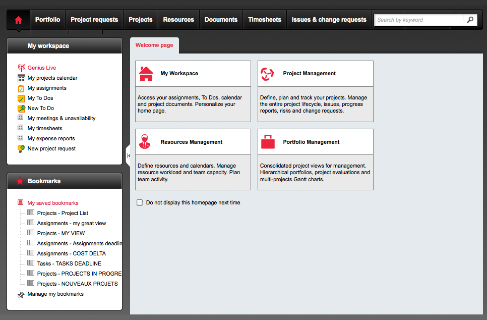 computer resource management system project